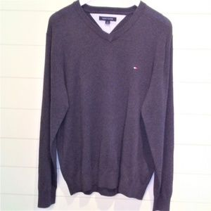 Tommy Hilfiger Men's Heathered Gray Sweater NWT
